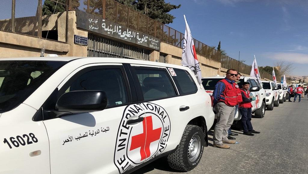 """""""الصليب الأحمر"""" يطلب معلومات عن موظفيه المخطتفين منذ 2013 في سورية style="""