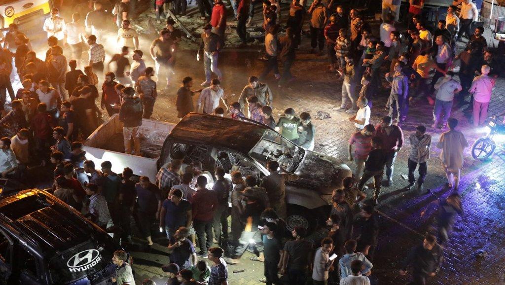"""الائتلاف يدين تفجير إعزاز و""""الجيش الوطني"""" يستنفر عناصره – شبكة جيرون الإعلامية"""